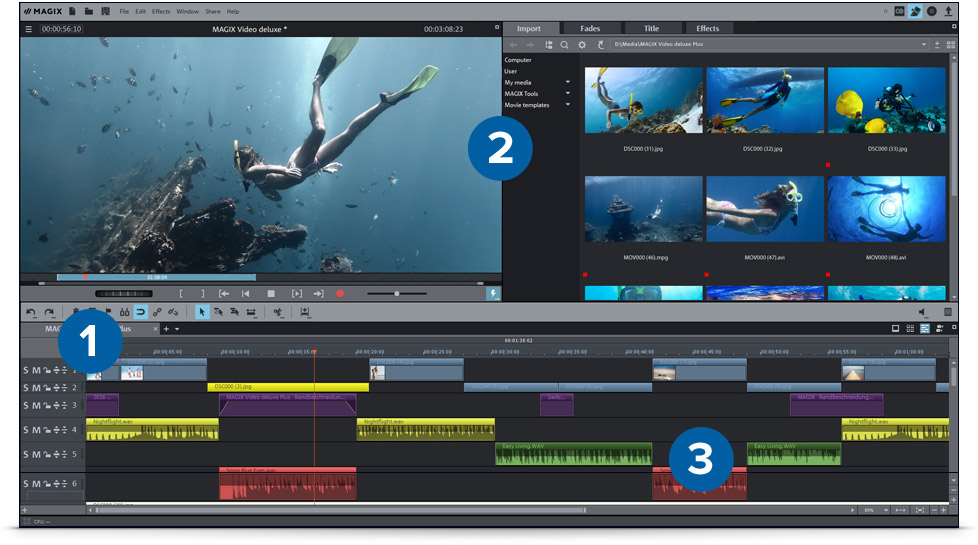 Home Video Editing Software Free Download - softava-wisoft