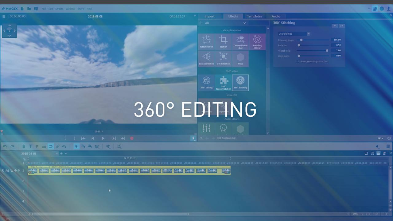 MAGIX Movie Edit Pro – Tutorials