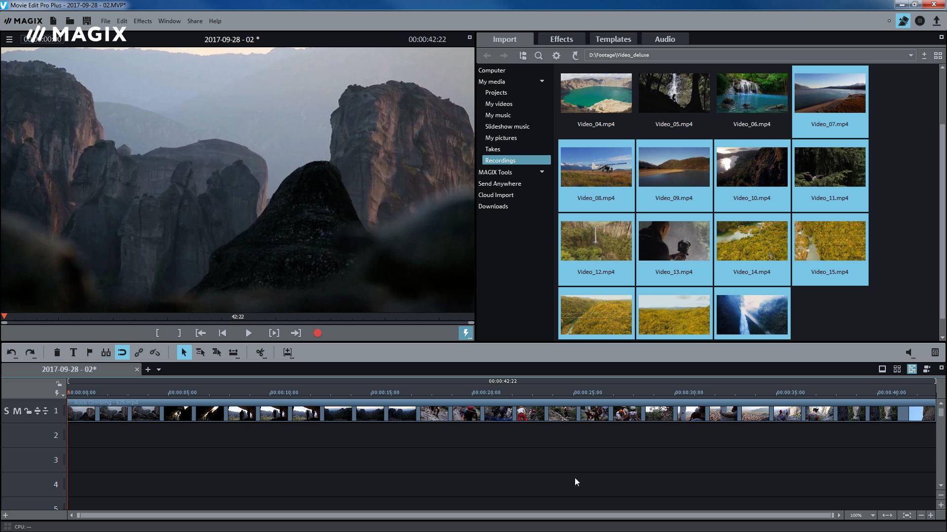 MAGIX Movie Edit Pro - Video
