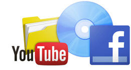 Export to DVD, Blu-ray Disc, YouTube, Facebook or as a file