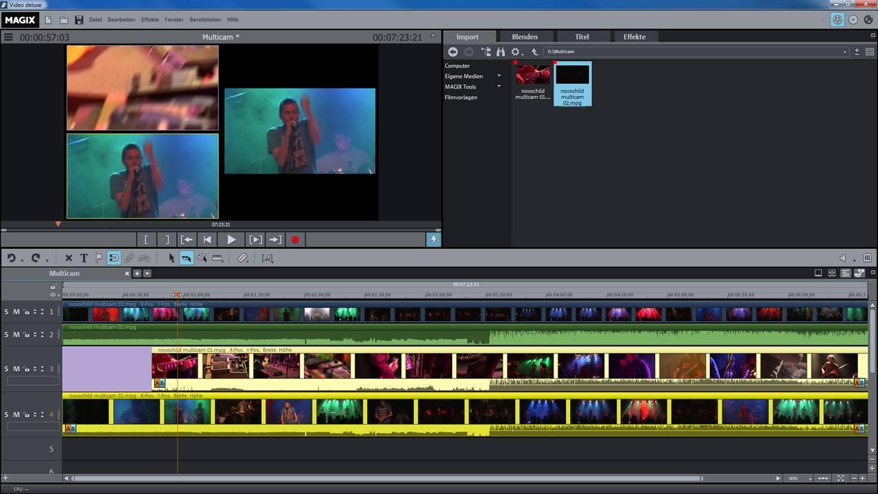 magix video bearbeitungs programm