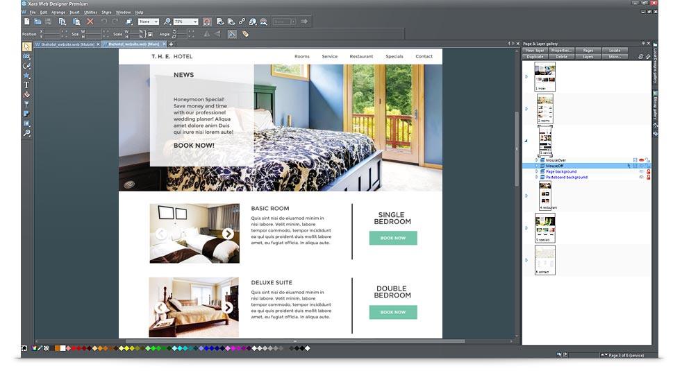 Xara Web Designer Premium 12.0.1.45229