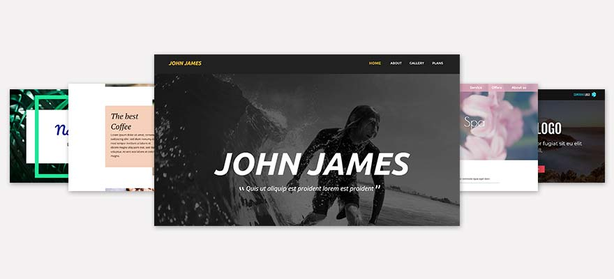 Create websites  One of a kind  Simple to use  | Xara Web Designer