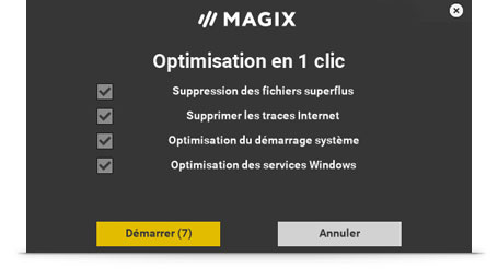 Pilote d'optimisation automatique et maintenance en 1 clic