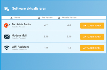 Automatische Software-Updates