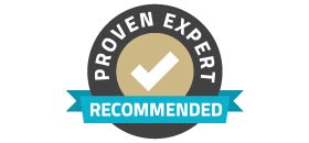 Proven Expert Recommended