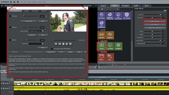 How to make video quality better with audio effects