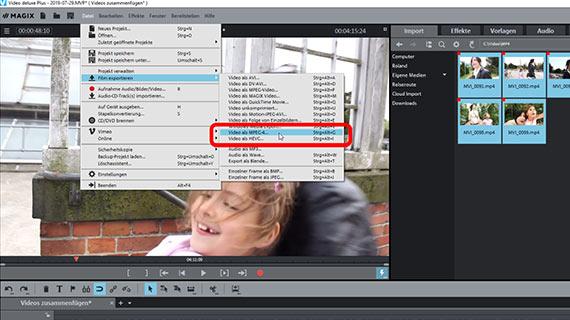 videos online zusammenfügen