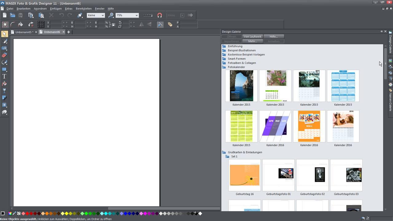 Alle tutorial videos zum magix foto grafik designer auf for Grafik designer