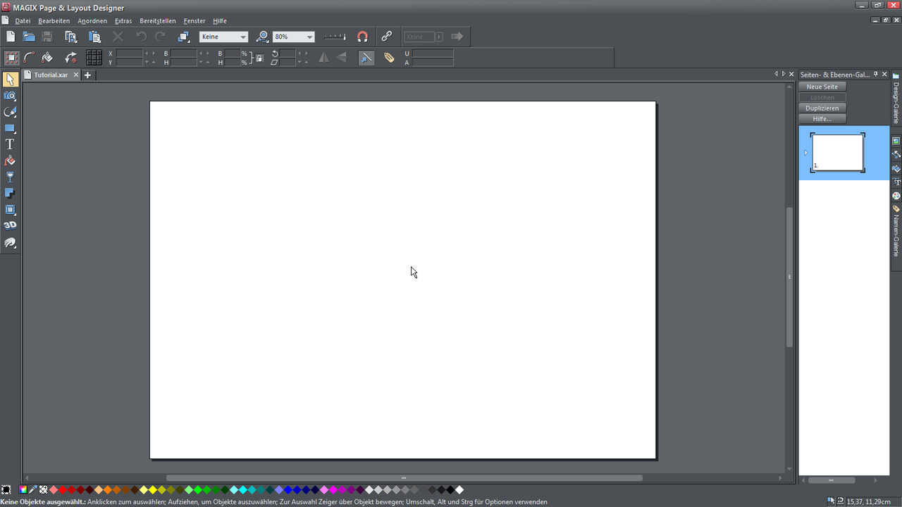 Layout Designer | Alle Tutorial Videos Zum Magix Page Layout Designer 11