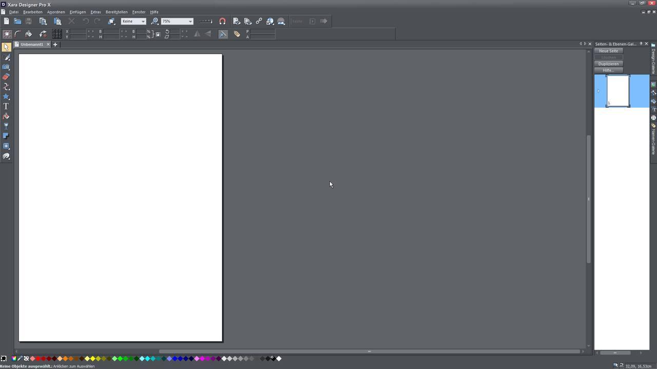 Alle Videotutorials für Einsteiger zum Xara Designer Pro