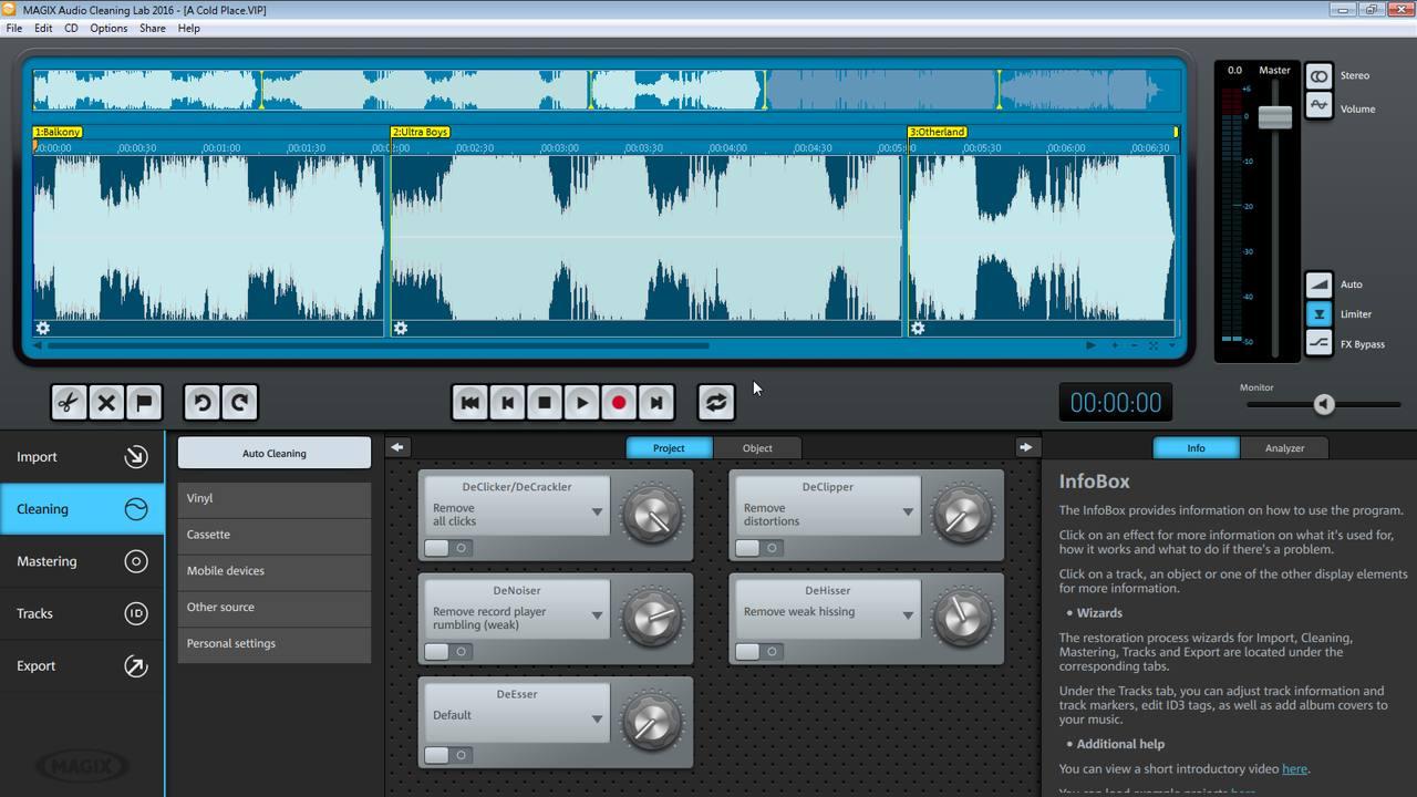 magix audio cleanic