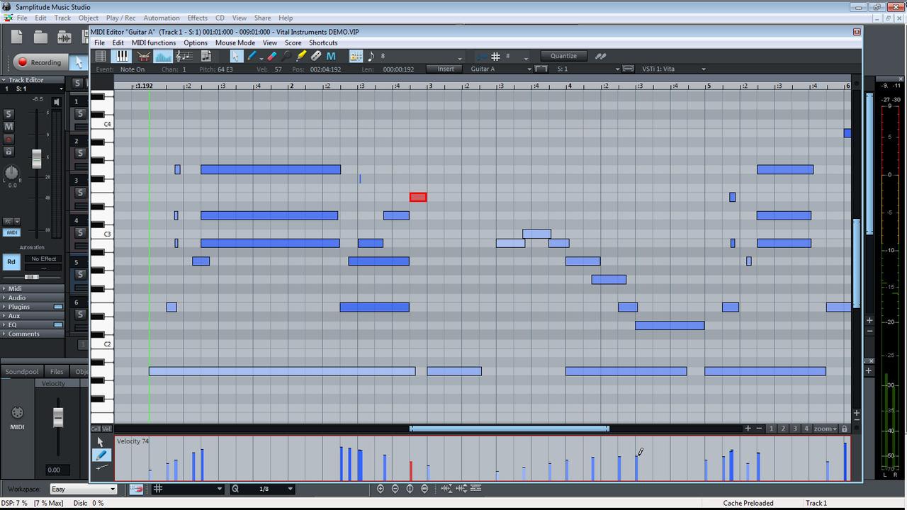 upload studio how to add music