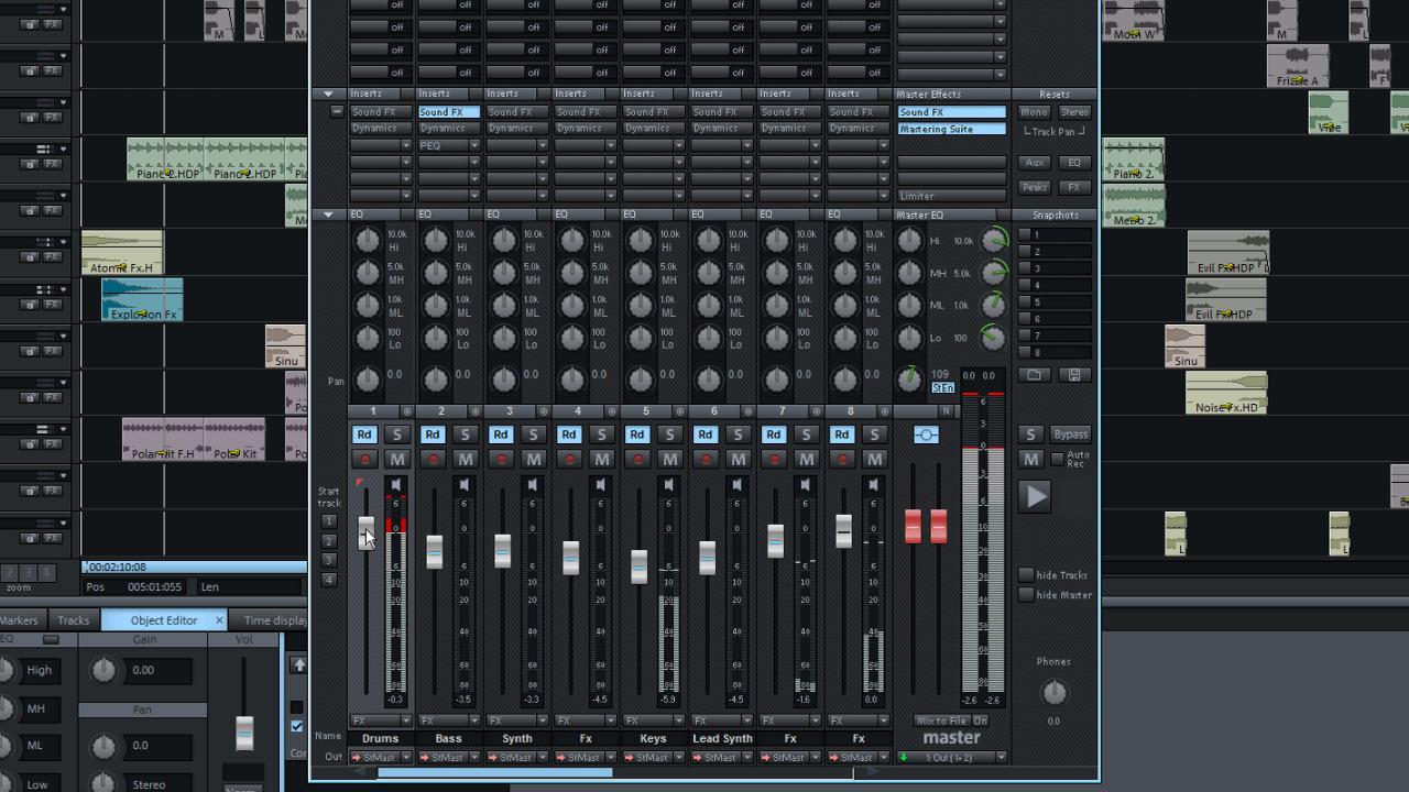 Magix Music Studio 2016 Overview