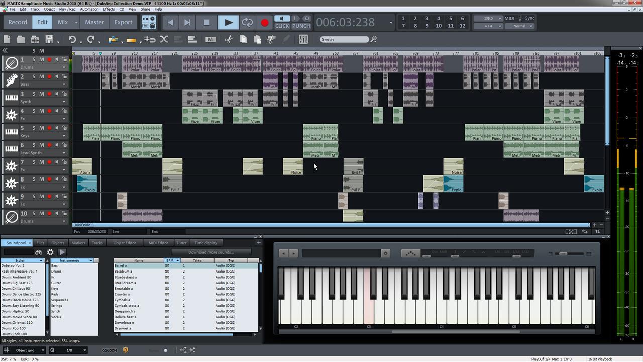 Magix music studio 2016 tutorials for Music studio design software