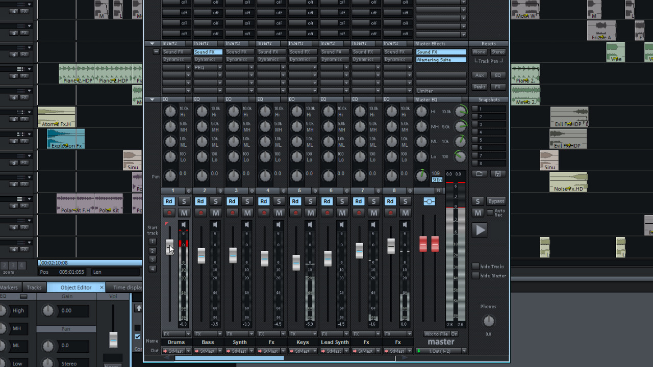 Magix music studio 2016 vid os tutorielles - Telecharger table de mixage pc gratuit ...