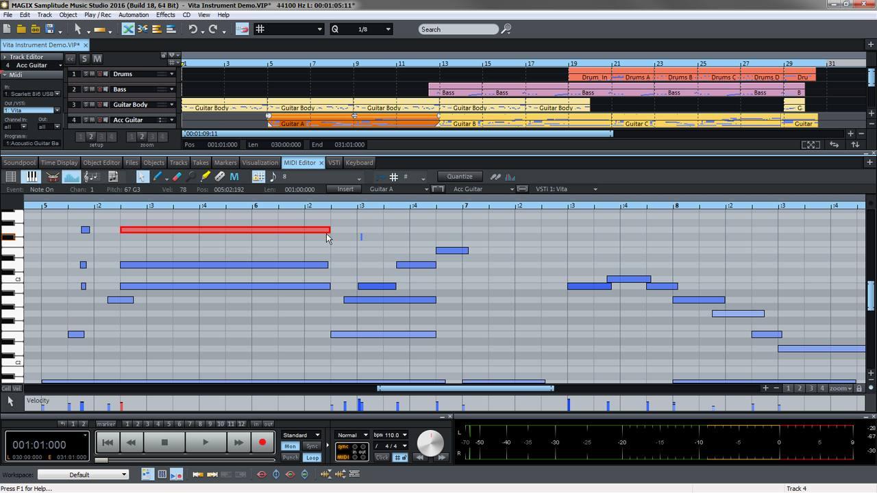 MAGIX Samplitude Music Studio – Video Tutorials