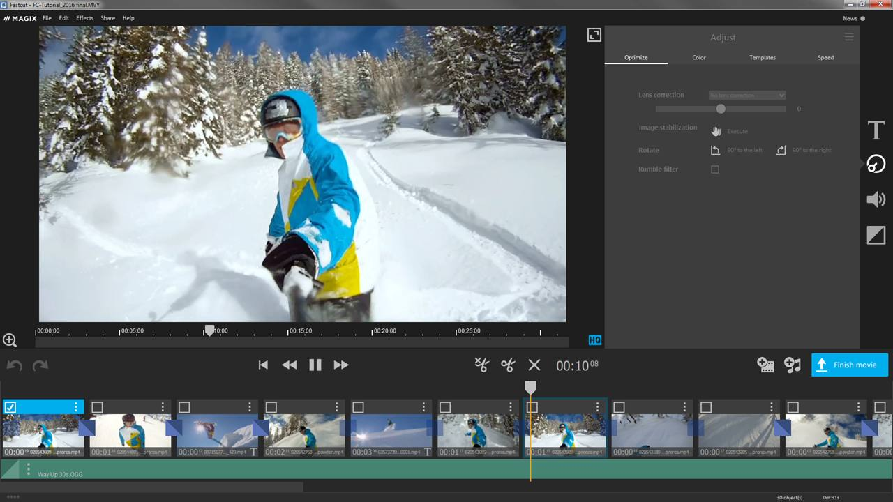 The Best Gopro Editing Software To Use Magix