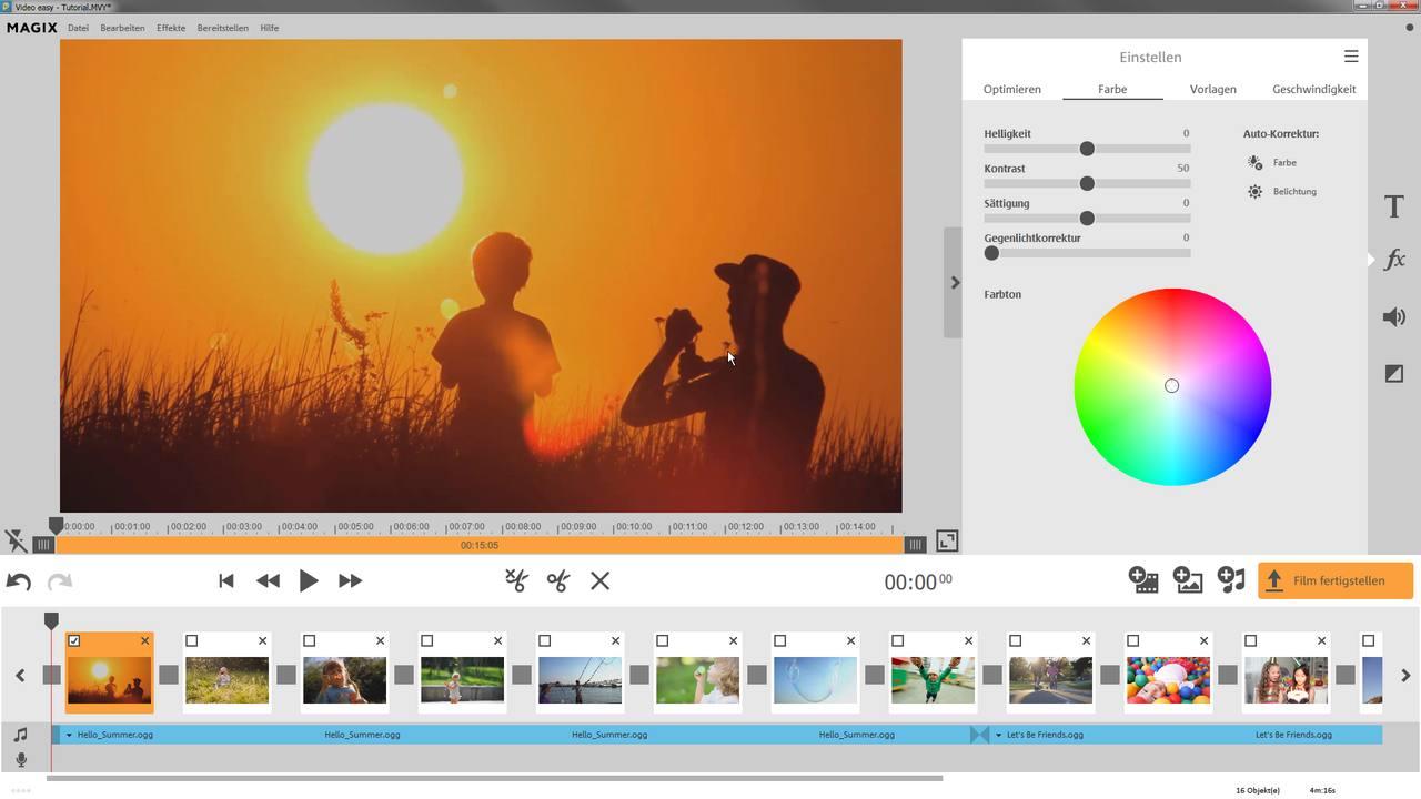 MAGIX Video easy – Filme erstellen leicht gemacht