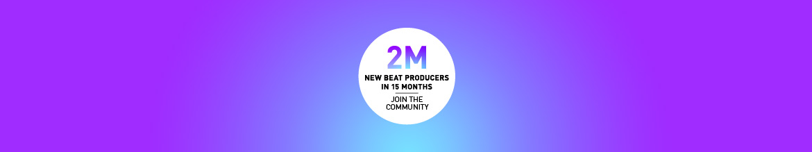 2 million new beat producers